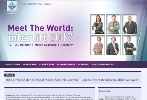 interlift 2017 in Augsburg