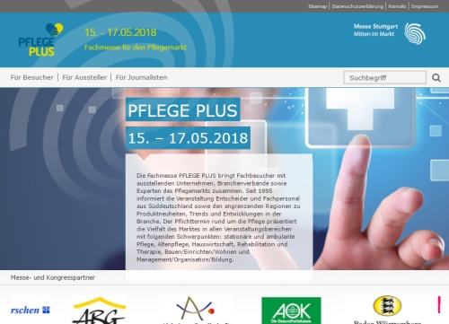 Pflege Plus 2018 in Stuttgart
